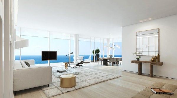 inside tel aviv s newest luxury residences visualization rh pinterest com