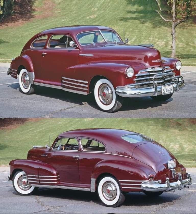 1947 Chevrolet Fleetline Aerosedan Chevrolet Chevy Cars