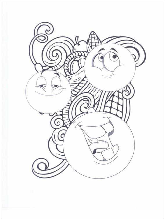 Emojis - Emoticons Coloring Pages 23 | Coloring pages for kids ...