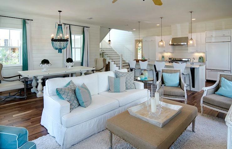 Attrayant Open Plan Living Room   Cottage   Living Room   Romair Homes