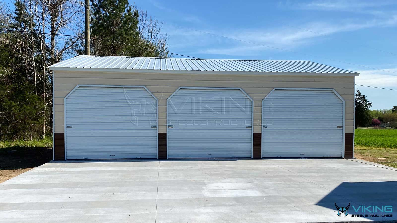 24 X35 X9 Vertical Style Metal Building In 2020 Metal Buildings Steel Buildings Building