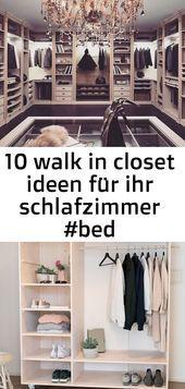 10 walk in closet ideen für ihr schlafzimmer 3   10 Walk in Closet Ideen für Ihr Schlafzimmer Cooler offener DIYKleiderschrank mit viel Platz und Stauraum f&uum...