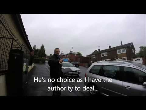 John (Gas Agent) for British Gas RUNS like a Rabbit after their forced e...