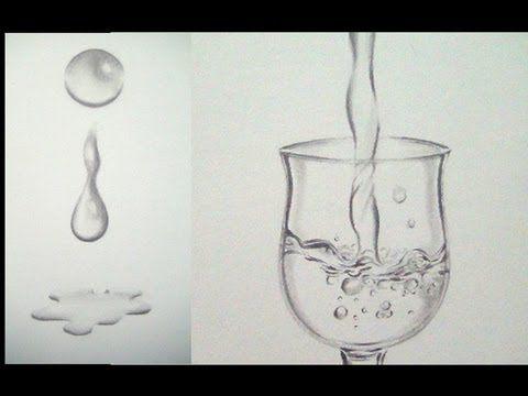 Como Dibujar Agua Facilmente Dibujar Una Gota De Agua Dibujos