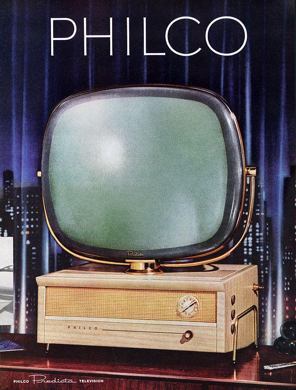 AD/Props: Philco Predicta Television, 1958