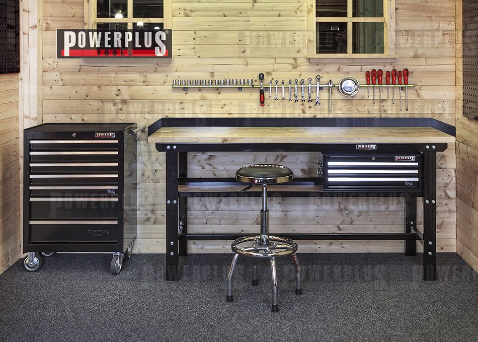 pin von powerplustools gmbh auf werkstatteinrichtung motorrad werkstatt kfz werkstatt. Black Bedroom Furniture Sets. Home Design Ideas
