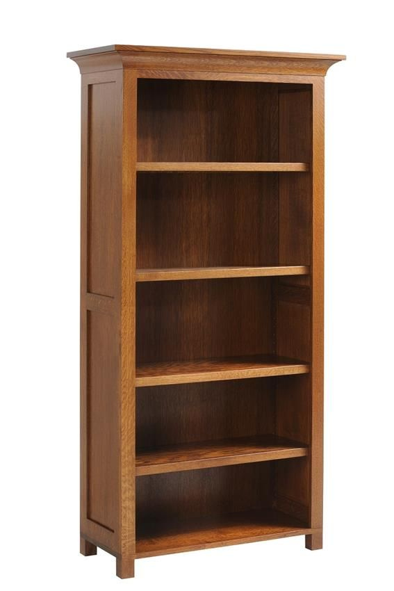 Amish Coventry Mission Bookcase Mission Style Furniture Ashley