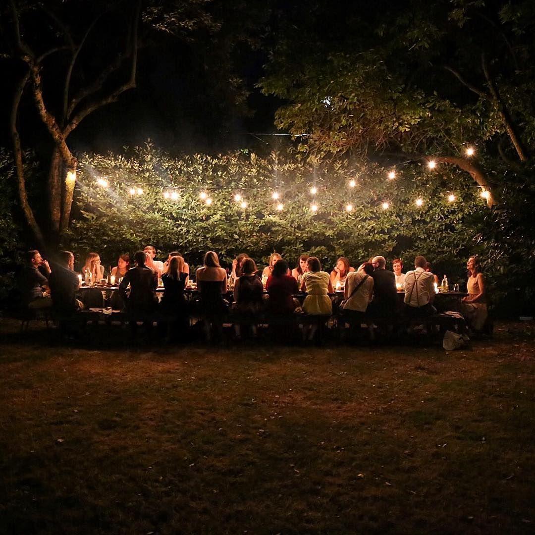 Backyard Dinner Party, Backyard