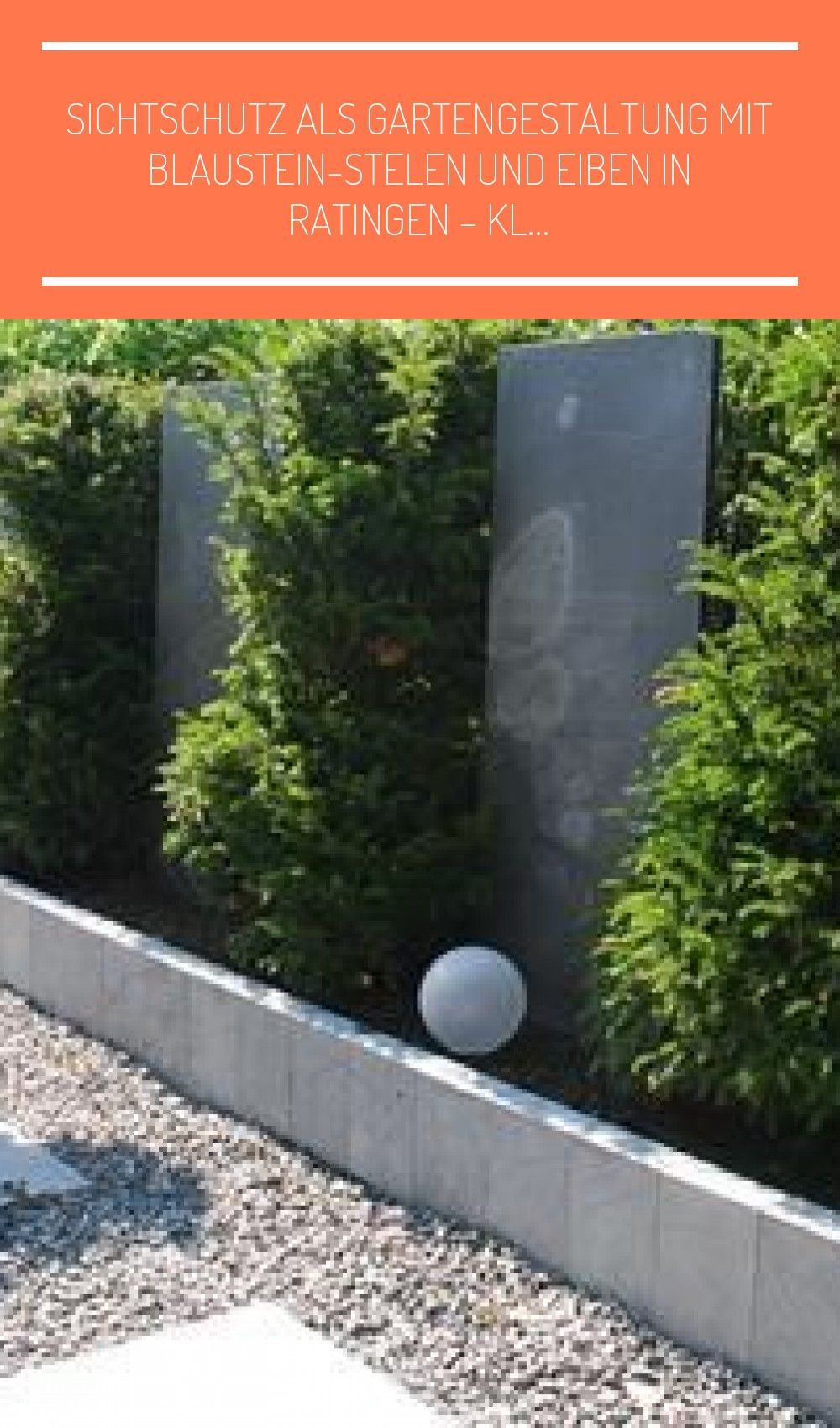Sichtschutz Als Gartengestaltu Jardines Tolerante