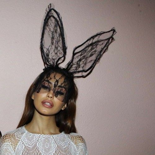 there are 13 tips to buy this hair accessory sexy halloween accessory top halloween costume bunny headband hat bunny ears mask lace cat ears animal ears
