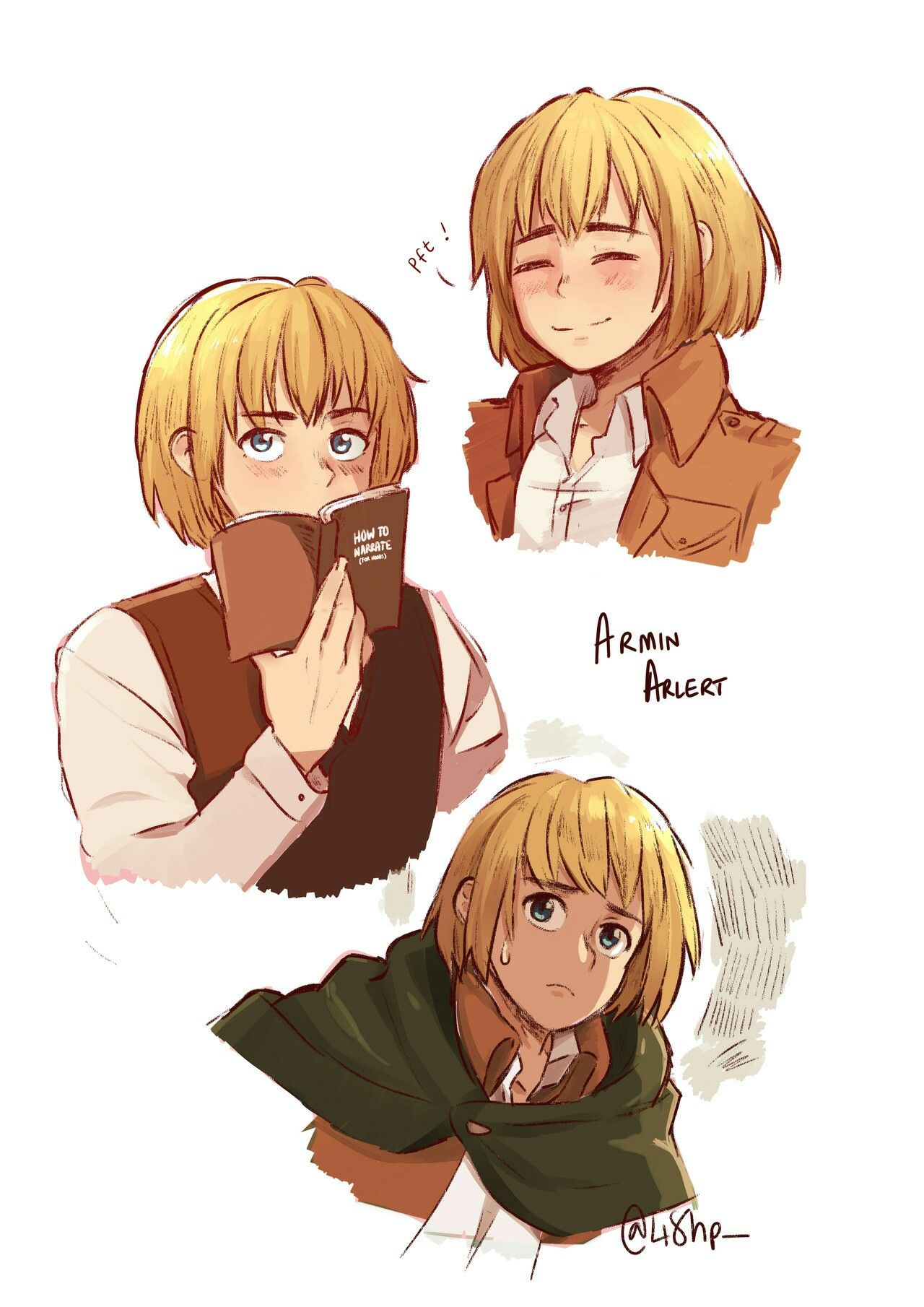 Armin Arlert Aot Attack On Titan Art Attack On Titan