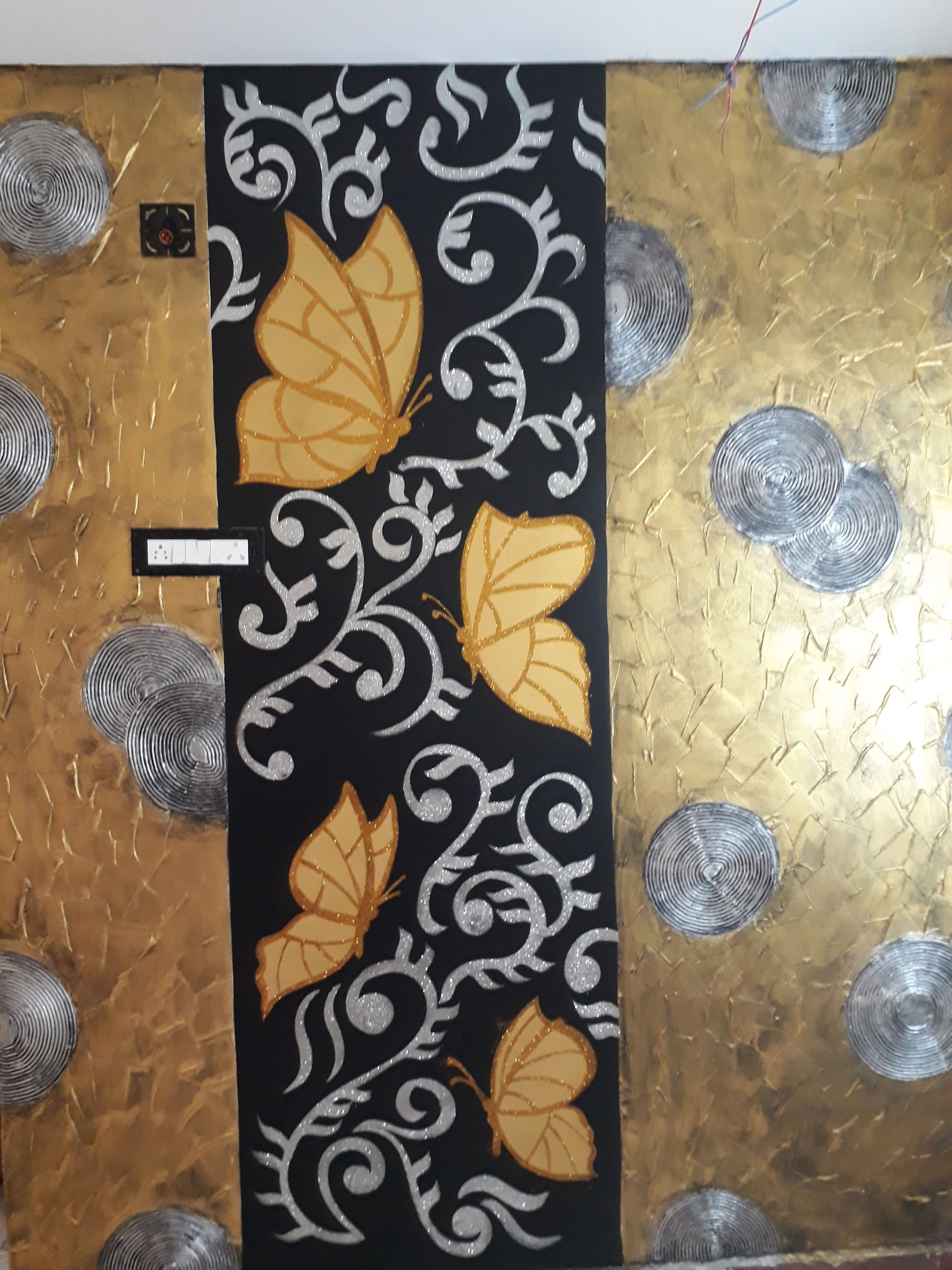 Decorative design ideas diy wall paint designs texture