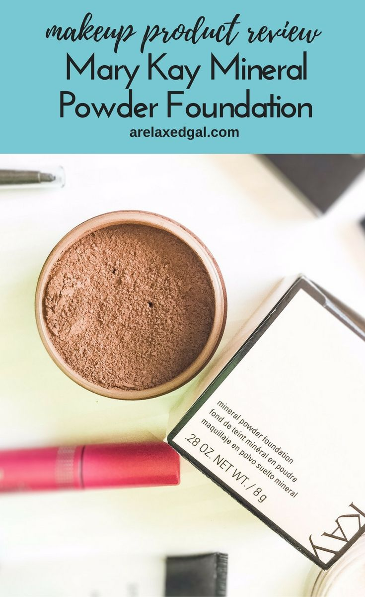 A Foundation Great for Sensitive Skin Mary kay mineral