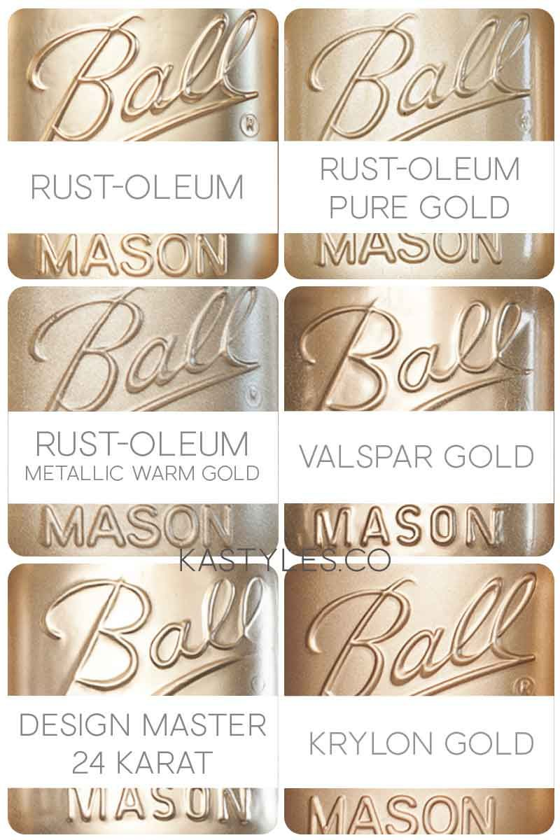 Best Gold Spray Paint Crafts Paint Stain Best Gold