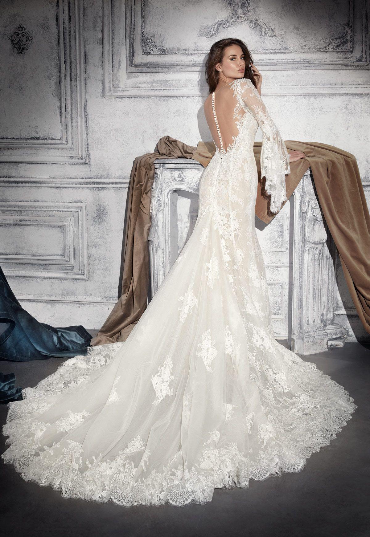68db54089 Vestido de novia Demetrios Modelo 772 - Eva Novias