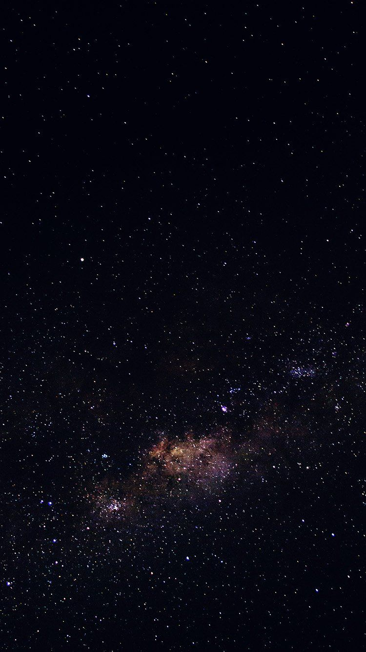 Iphone Stars Galaxy Space Black Wallpaper Galaxy