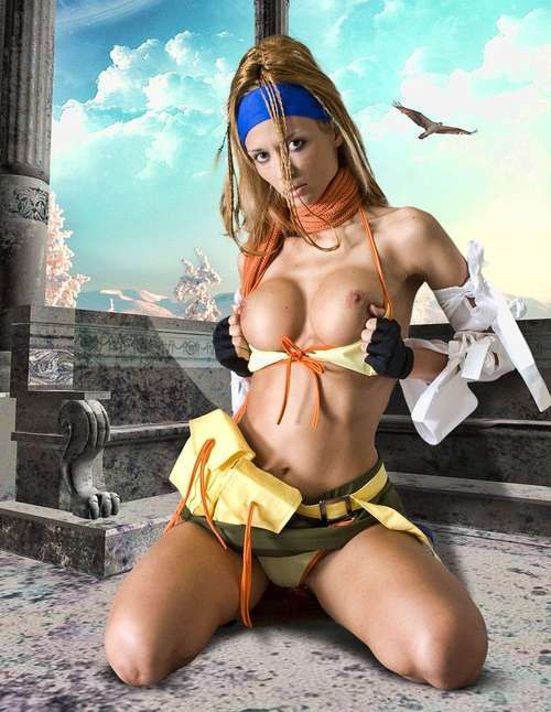 Yuna And Rikku Cosplay Sex Galle Filthy Family 1