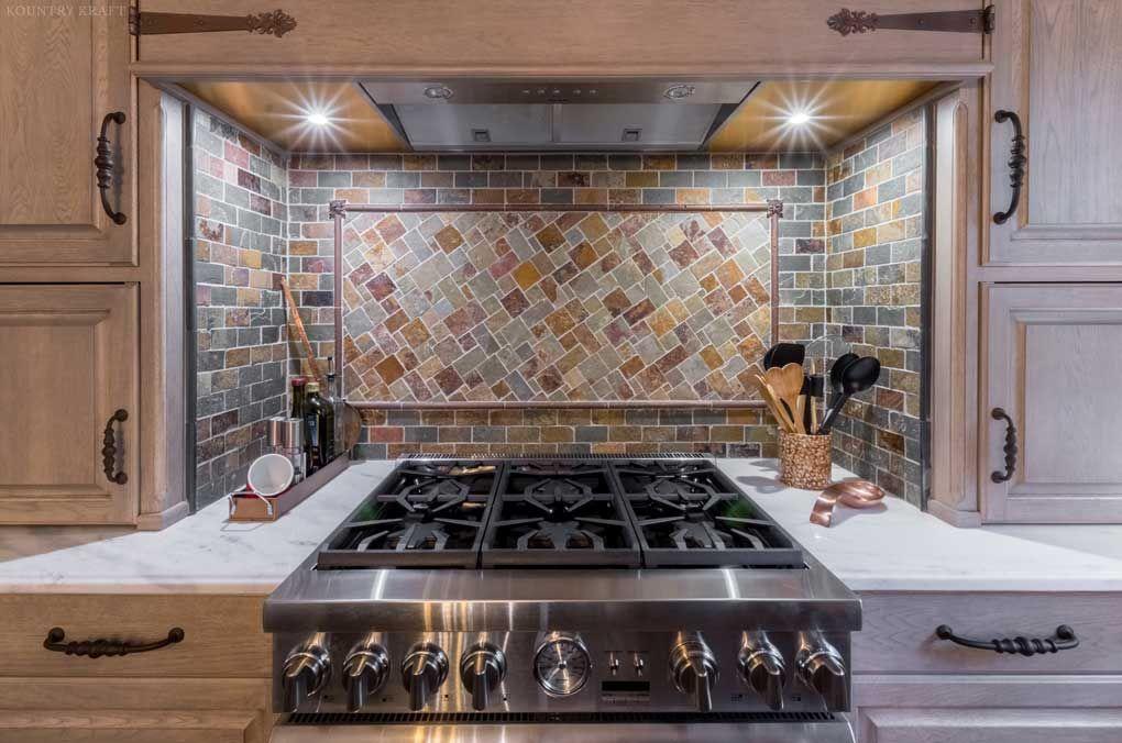 hickory kitchen located in fairfax station va httpswwwkountrykraft - Kitchen Cabinets Fairfax Va