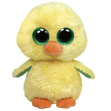 TY BEANIE BOOS - Nuggest the Yellow Chick by Ty  eb7900a8a82