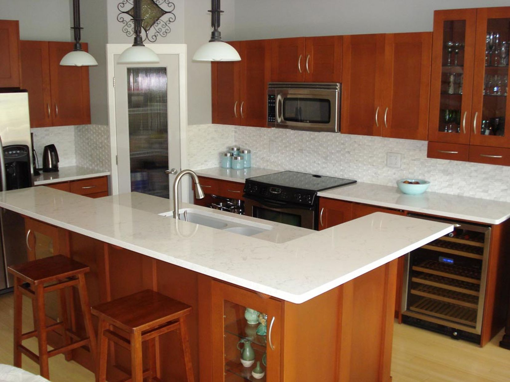 Superb 77+ Quartz Countertop Cleaning   Kitchen Island Countertop Ideas Check More  At Http:/ Gallery