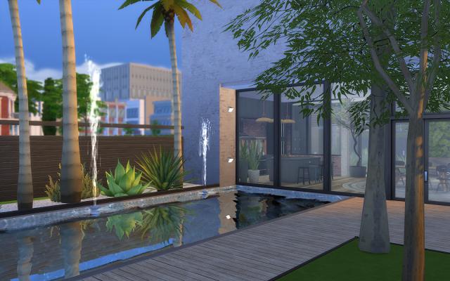 maison sims 4 jardin de luxe | Sélection de maison Sims 4 à ...