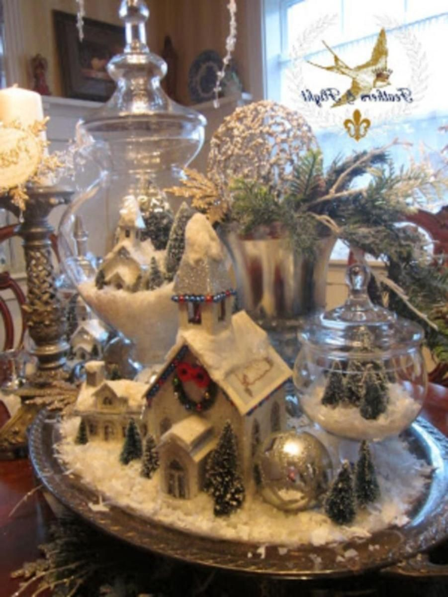 Best Creative DIY Christmas Table Centerpieces Ideas 15 ...