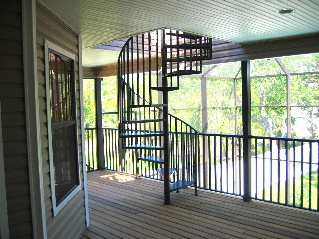 Best Outdoor Spiral Deck Stairs Spiral Stairs Staircase 400 x 300
