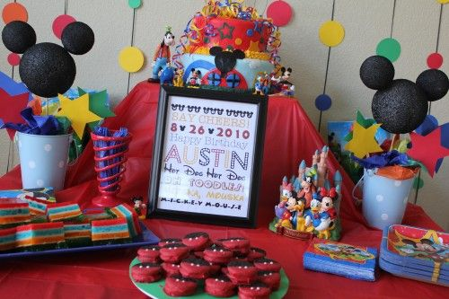 Mickey Mouse Themed Party Party Ideas Pinterest Themed parties - mickey mouse boy birthday party ideas