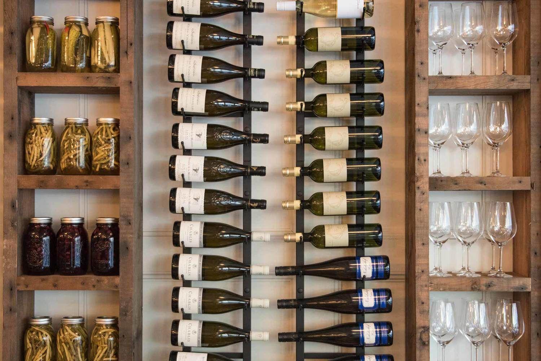 wine rack royal dinette vancouver bc restaurant pinterest