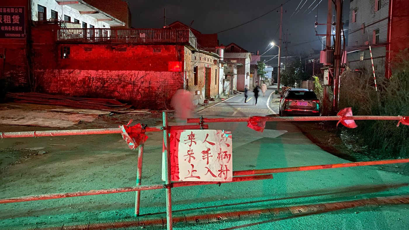 NPR News The Thinking Behind China's Quarantines … And