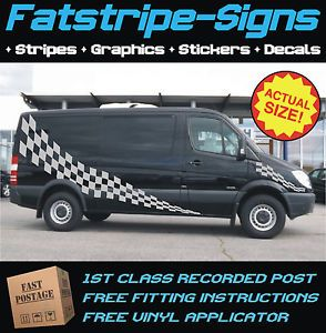 Details About Mercedes Sprinter Lwb Graphics Stickers
