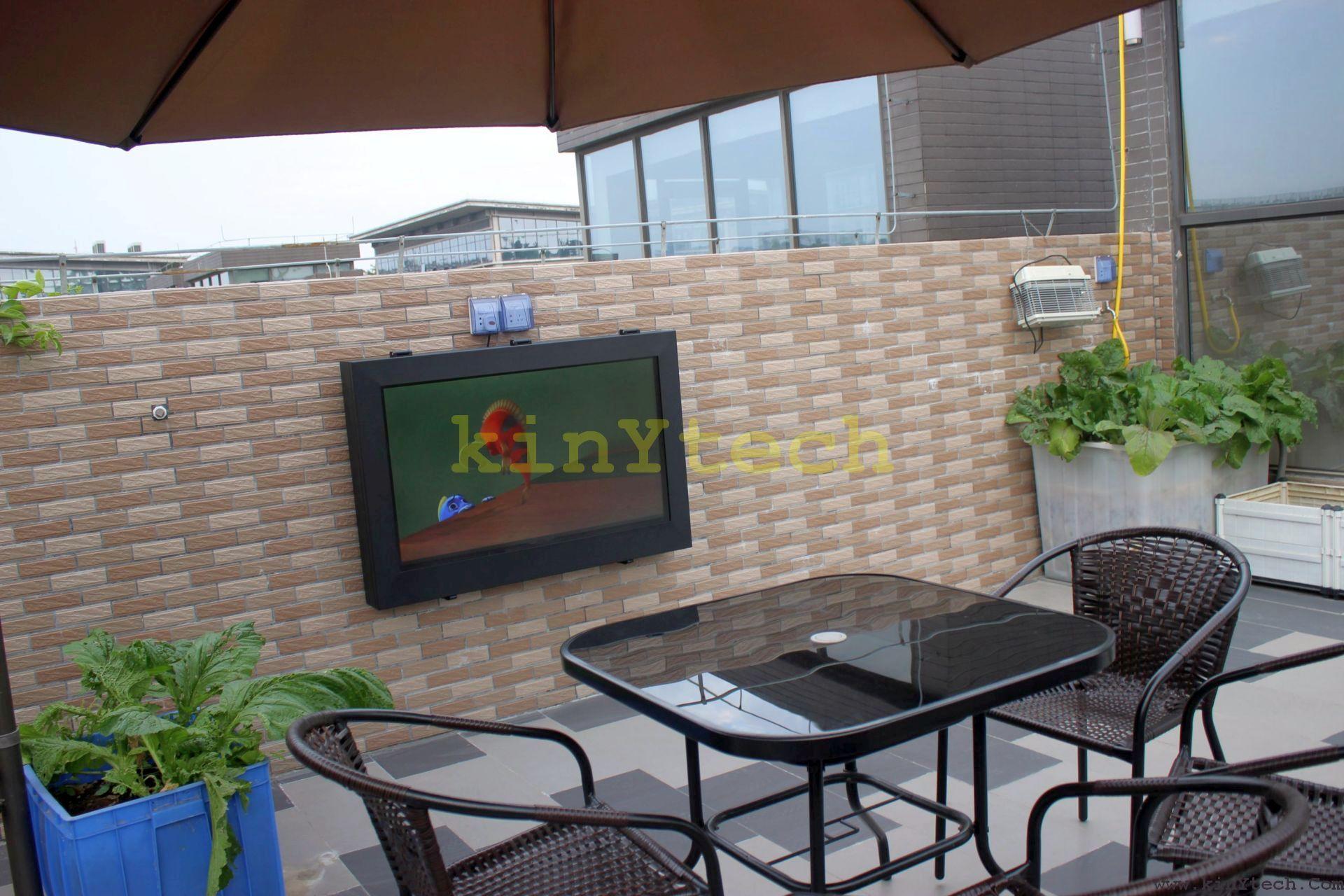 Outdoor Tv Enclosure,Outdoor Tv Mount,Weatherproof Tv Enclosure,Outdoor Screen Enclosure,