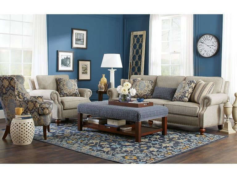 Craftmaster Living Room Sofa 762350 Tyndall Furniture Galleries Inc Charlotte Mooresville Pineville Nc And Fort Mill Sc