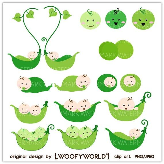 pea pod clip art | Party time | Pinterest | Clip art, Pea pods and Art