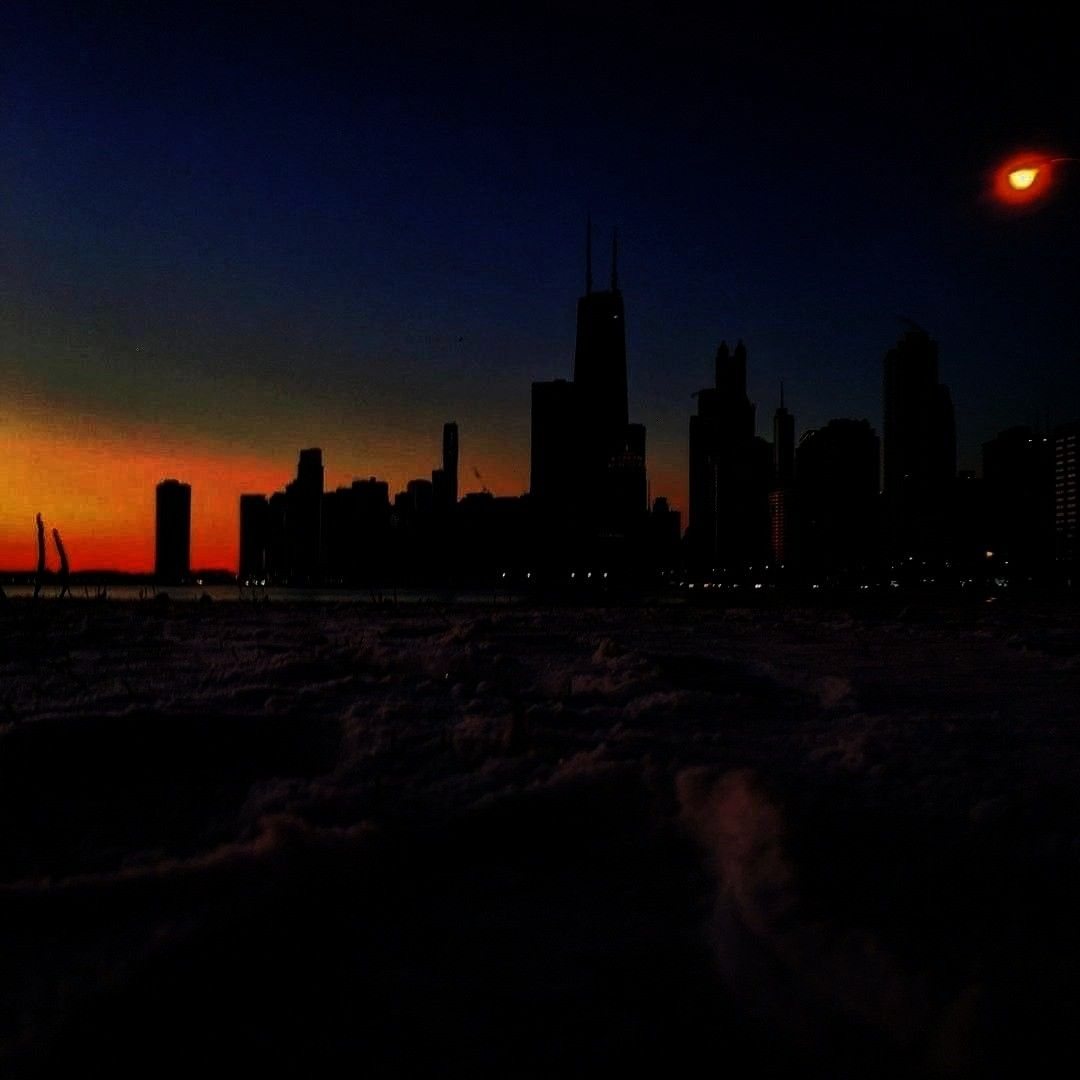 I took my first steps into the new year at North Beach, the apex of in CHICAGO. I had high hopes fo