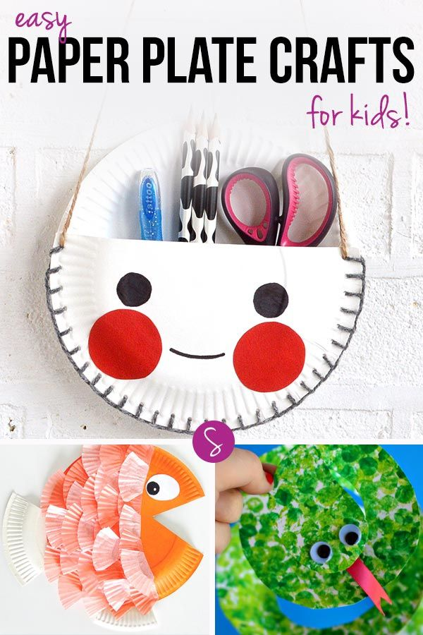 12 Super Easy Paper Plate Crafts For Kids Of All Ages To Enjoy
