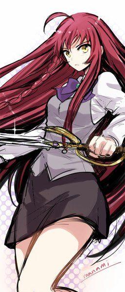 Anime Picture Hataraku Maou Sama Yusa Emi Manami Long Hair Single Tall Image 429x1000 4081 Hataraku Maou Sama Red Hair Anime Characters Anime
