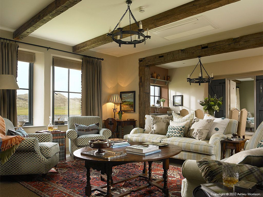 The Sitting Room Area In One Of The Link Cottages At The Trump - International home interiors