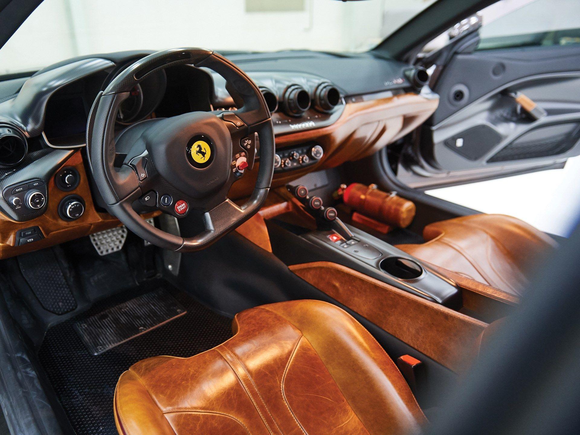 Ferrari F12 Tdf Brunito Custom Interior Ferrari F12 Tdf Ferrari F12 Ferrari