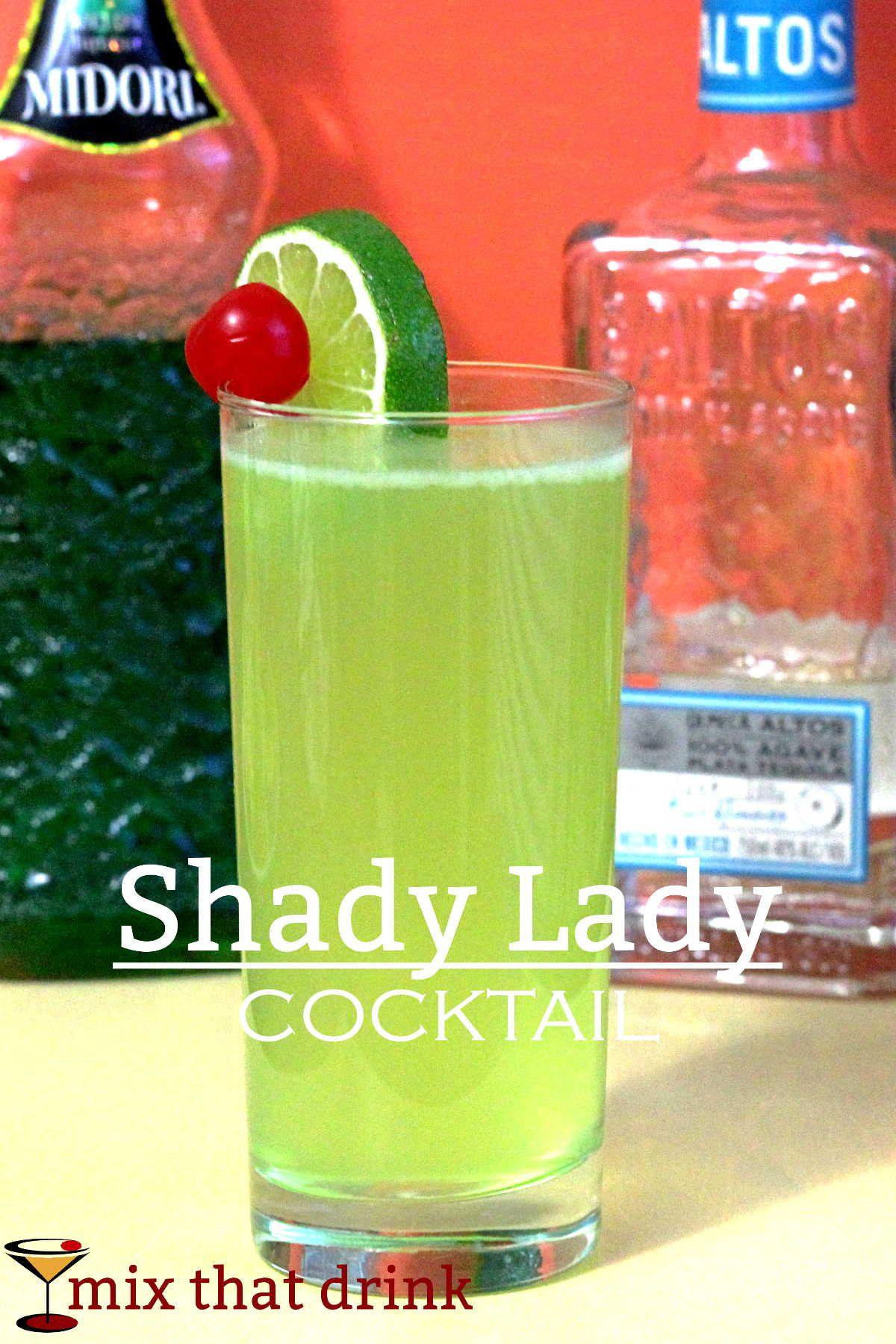 Shady Lady Cocktail | Alkohol und Getränke