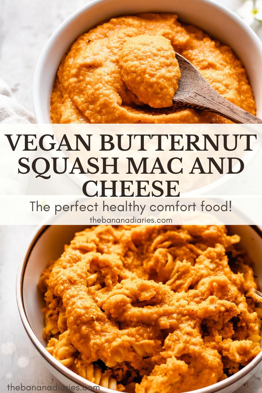 Vegan Butternut Squash Mac And Cheese Recipe The Banana Diaries Recipe In 2020 Butternut Squash Mac And Cheese Vegan Dinner Recipes Easy Butternut Squash Mac And Cheese Recipe