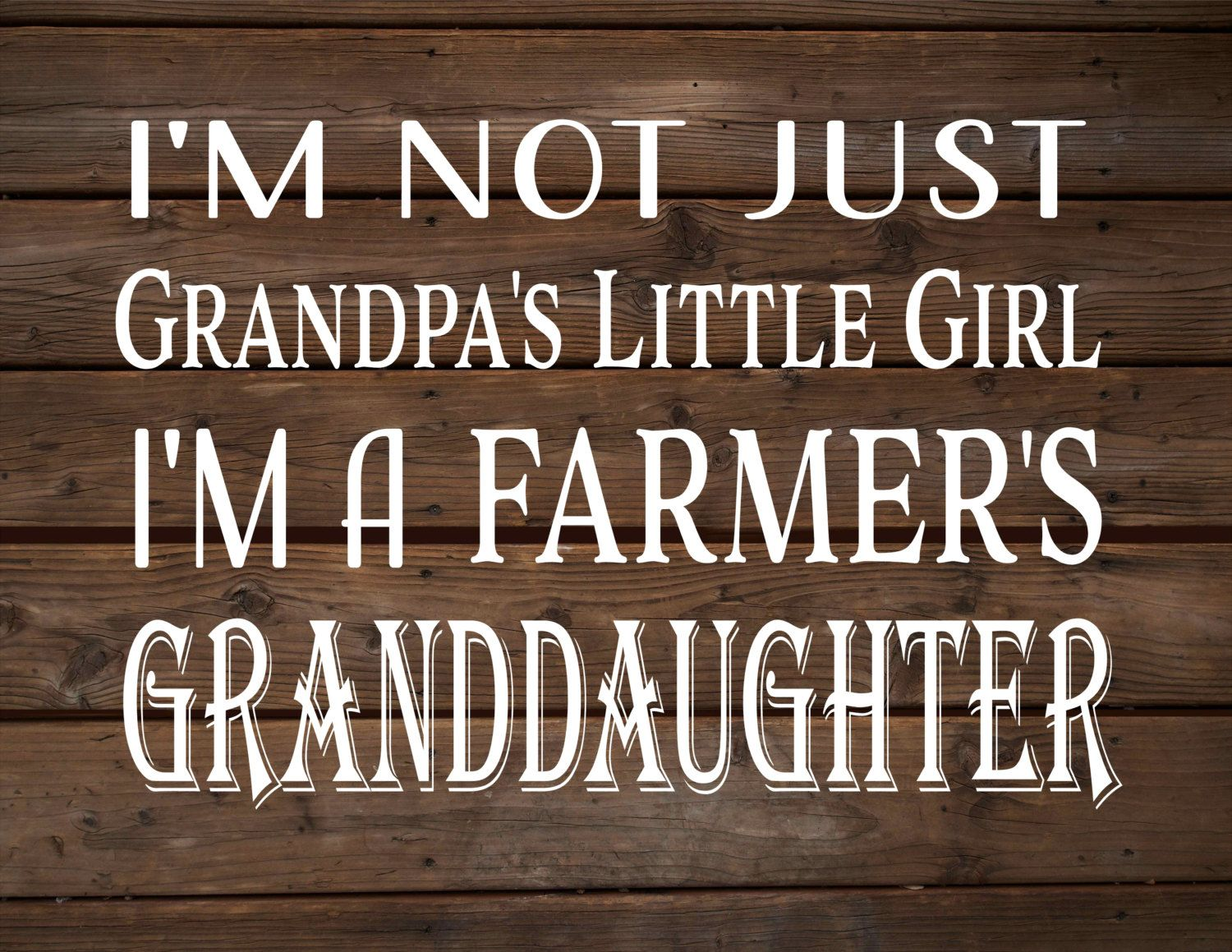 This is so true !!!!!!Yeppers!!!!I'm Not Grandpa's Little Girl   I