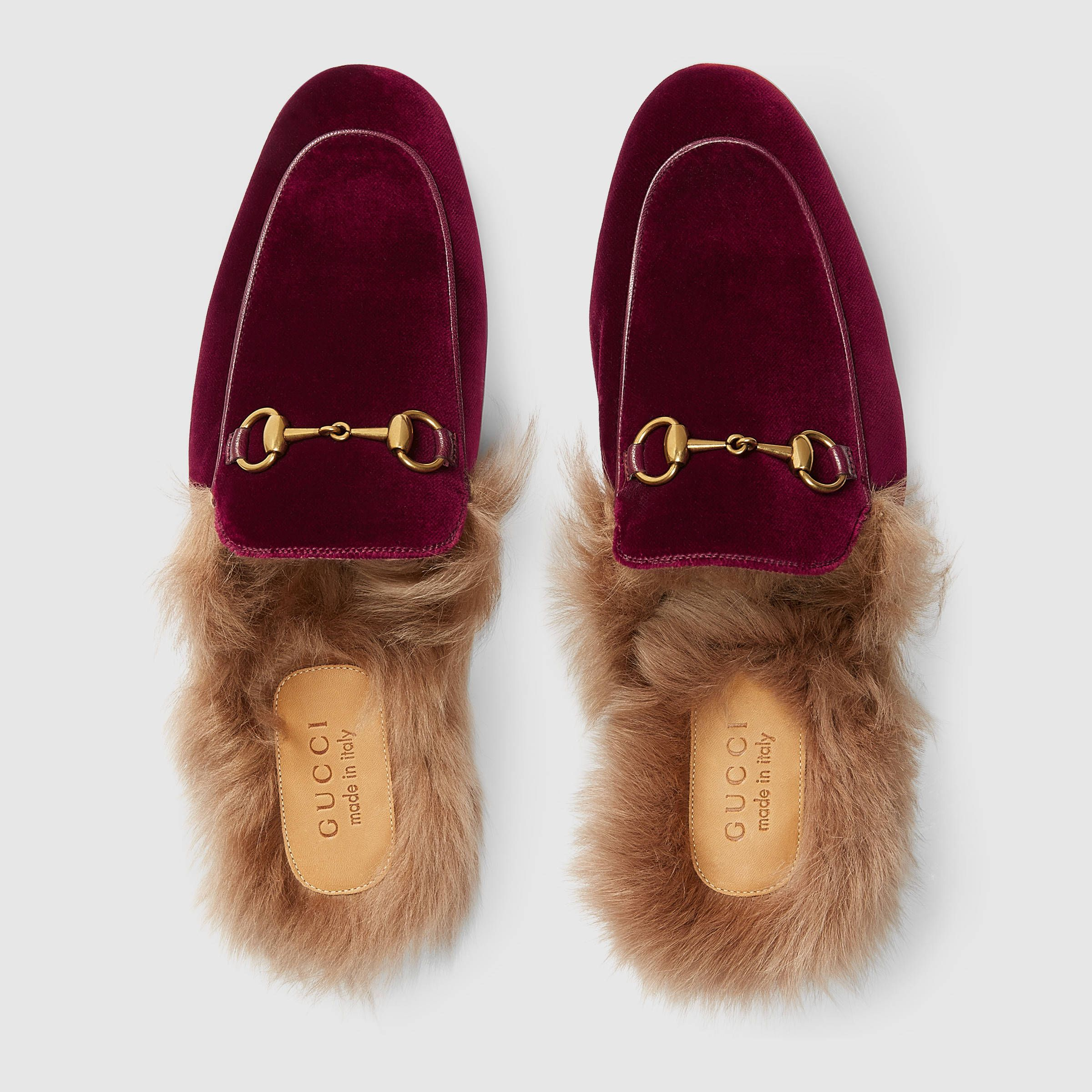 Gucci Princetown Velvet Slipper Detail 3 Gucci Slippers Women Leather Slippers For Men Fashion Slippers
