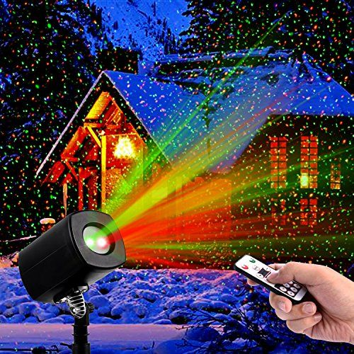 Christmas Laser LightsOutdoor Projector lights with Remote Control