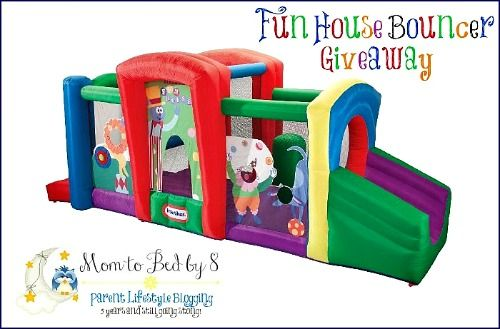 Little Tikes Fun House Bouncer Event Giveaway - Two Classy Chics