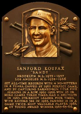 Photo of Sandy Koufax