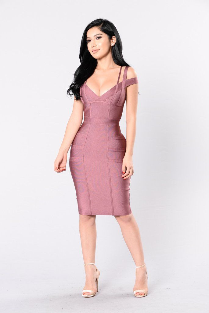 Lansa Bandage Dress - Dark Mauve | Fashion | Pinterest | Moderno y ...