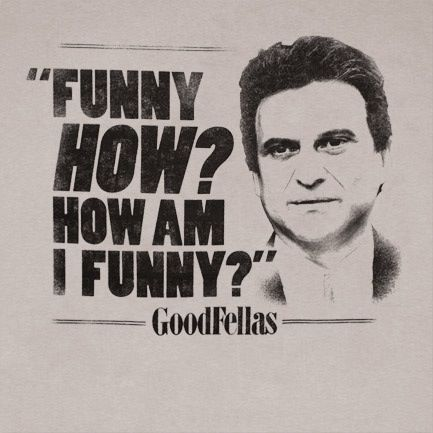 Tommy DeVito Goodfellas quotes, Gangster movies, Goodfellas