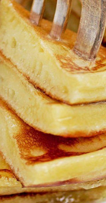 Flauschige Frischkäse-Pfannkuchen  – Bloggers' Best Baking Recipes