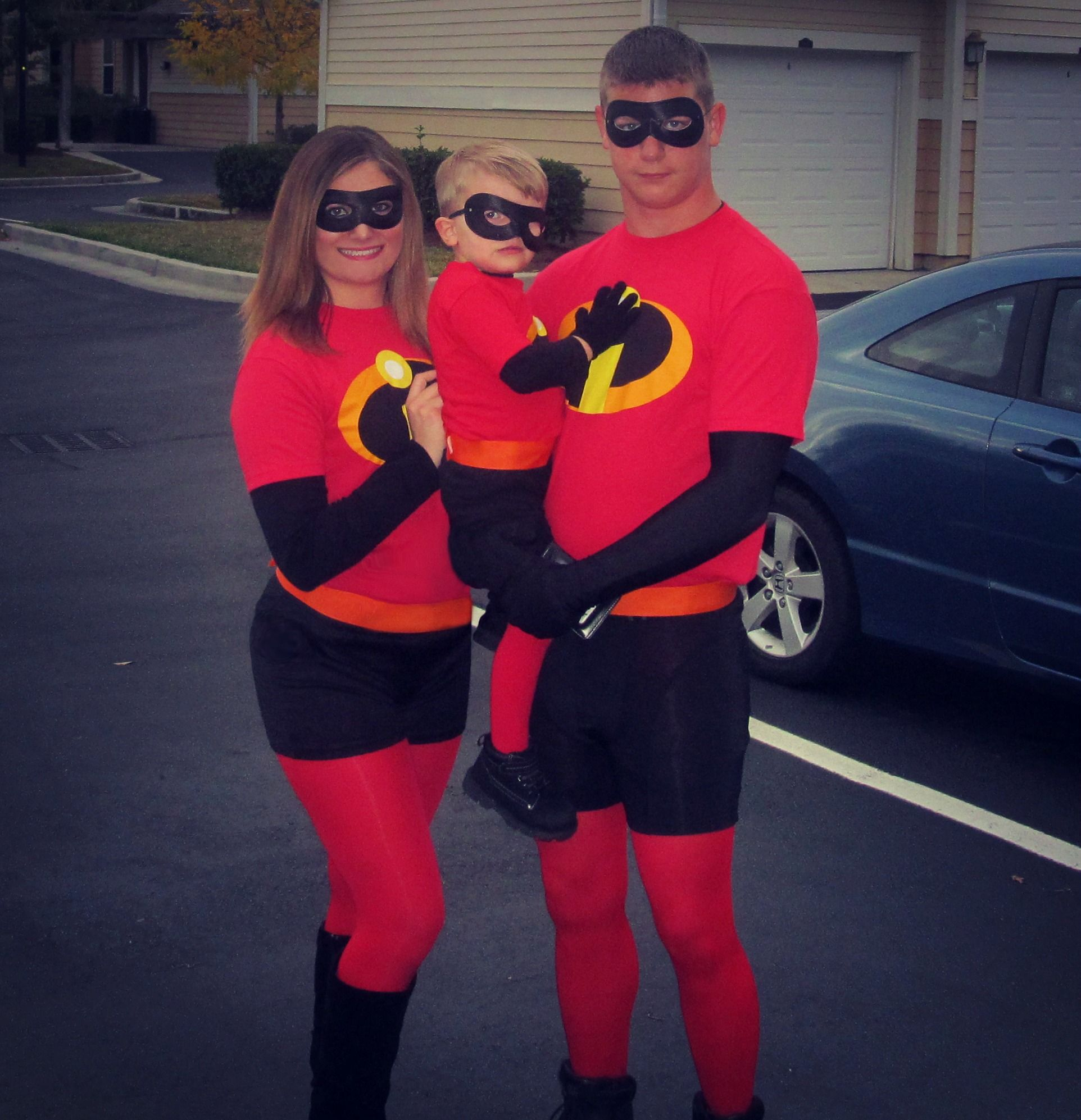 incredibles DIY costumes